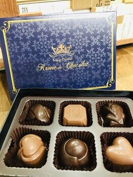 チョコレート頂きました(^ ^)