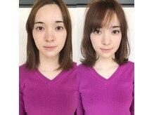 前髪で印象は変わります。