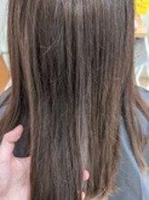 半年ぶりに♪上質な髪へ…髪質改善トリートメント☆