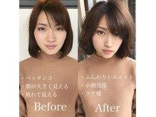 前髪での印象の違い