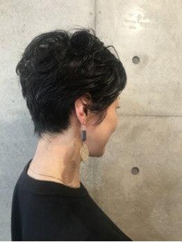 大人女性変身ヘアカタログvol.141 ショートヘア