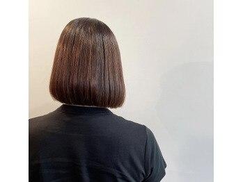 ナチュラルな美髪縮毛矯正