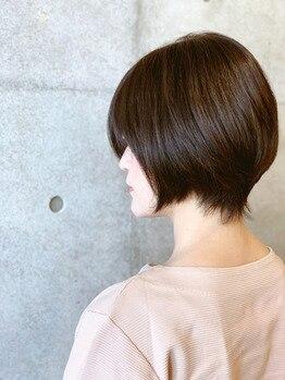 大人女性変身ヘアカタログvol.142 ショートヘア
