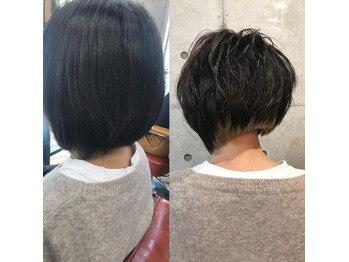 N.Y Dry Cutで髪は変わる!!ストレート編