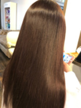 カラーエステ;髪質改善:Aujua:アディクシー