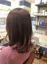 髪質改善しながら春カラー☆