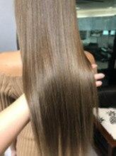 髪質改善カラー(*^^*)