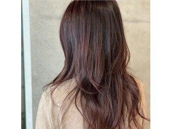 髪質改善カラー・トリートメントで美髪へ♪