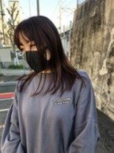 【ロブ】前髪あり派