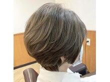 白髪ぼかしが人気です!立川 白髪ぼかし ハイライト