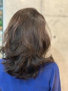 白髪染め(リタッチの方)の全体カラーのタイミング
