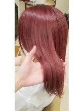 ブリーチオンカラーはピンクがオススメ(^^)/