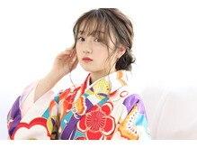 ♪着物×袴*サイドアップアレンジ