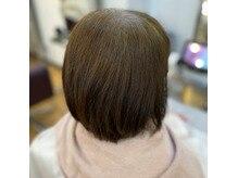 サイエンスアクア×イノア=髪質改善カラー