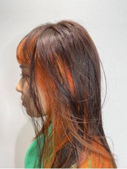 Orange×brown