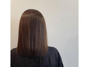 髪質改善♪ナチュラル縮毛矯正