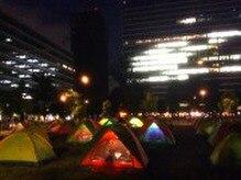 「中野区サバイバル親子キャンプ」