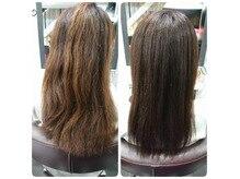 ヒップスデコの髪質改善で、ここまで変わる!