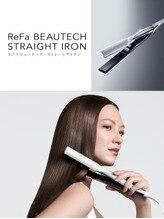 レア髪を作る☆ReFaビューテックストレートアイロン
