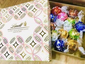 大好きなリンツのチョコレート♪