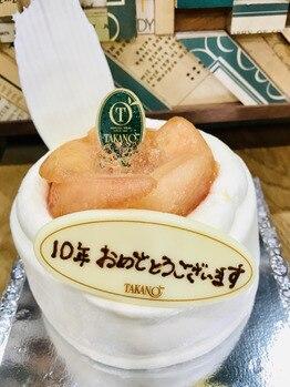 ケーキをいただきましたー(o^^o)