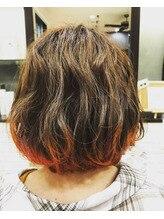 秋オススメ裾カラー☆