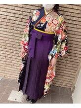♪着物*袴×卒業式ヘアアレンジ