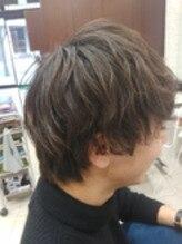 【お客様スタイル】メンズカット+パーマ