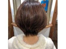 自慢のヘアスタイル
